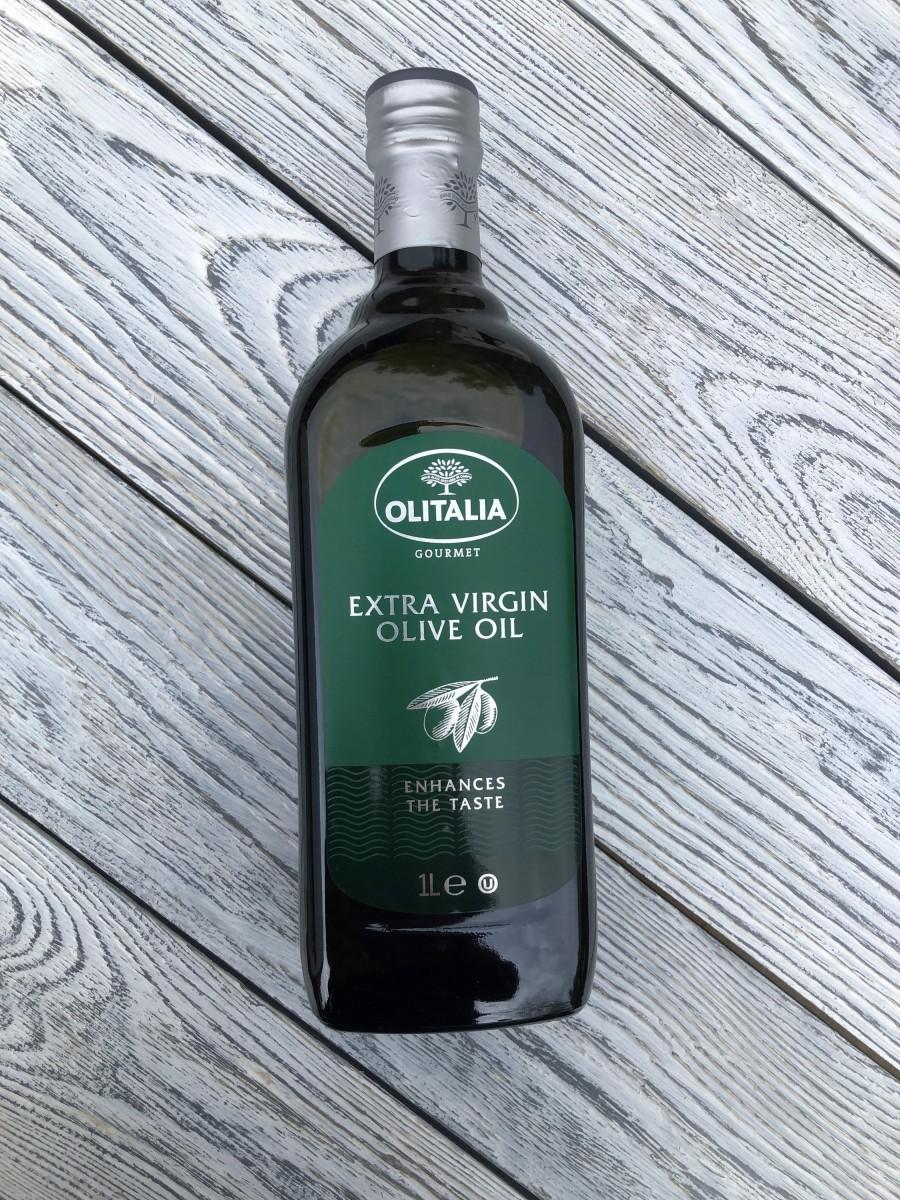 Оливковое масло, первого холодного отжима Extra Virgin Olitalia - 1 литр