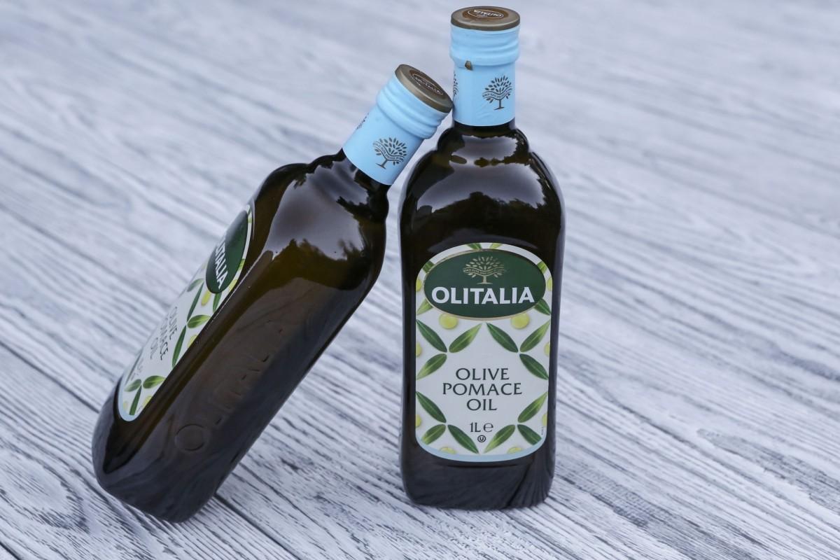 Оливковое масло для жарки, рафинированное Pomace oil Olitalia - 1 литр