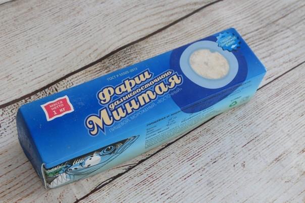 Фарш минтая свежемороженый - 1 кг/упак
