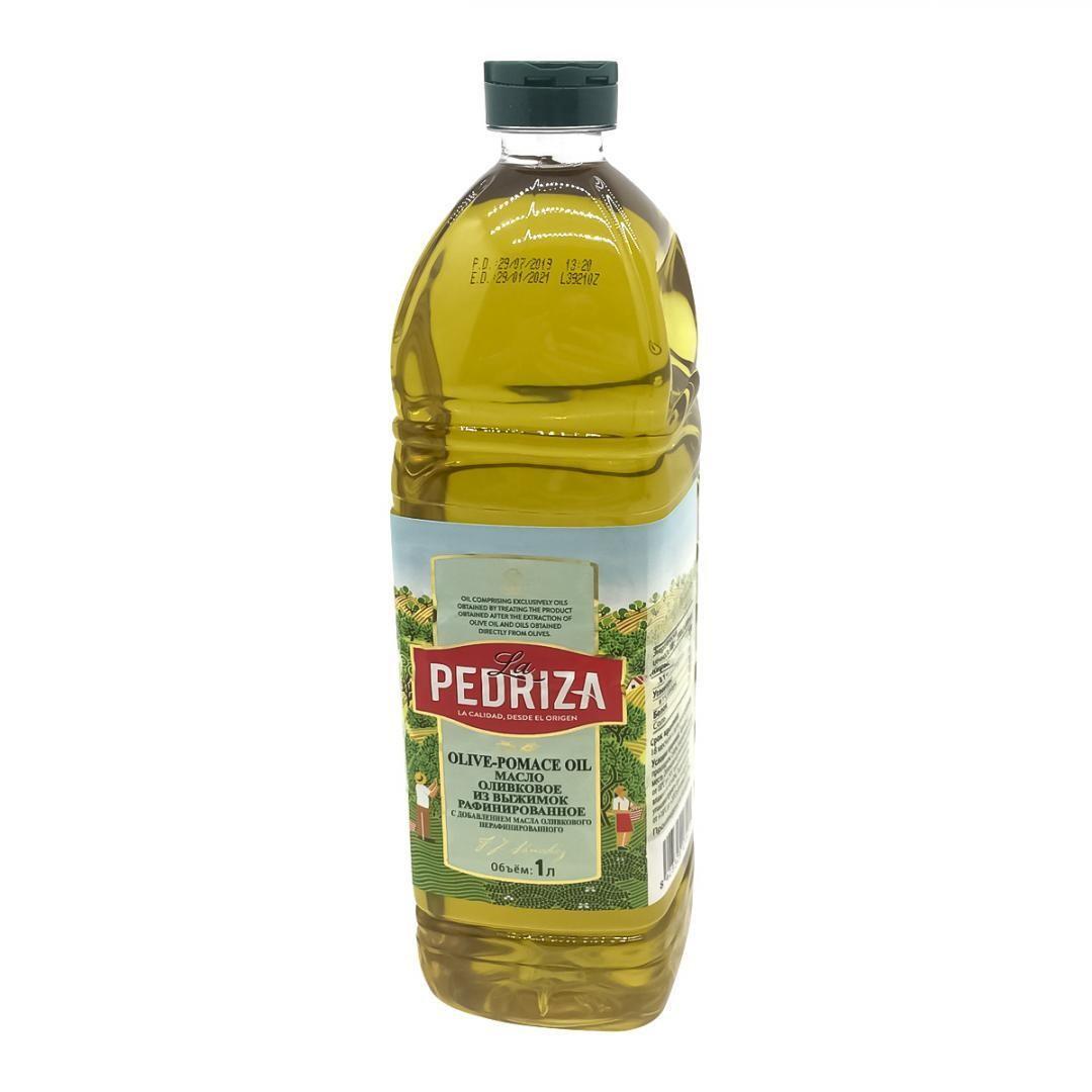 Оливковое масло для жарки, рафинированное, Pomace oil  - 1 л