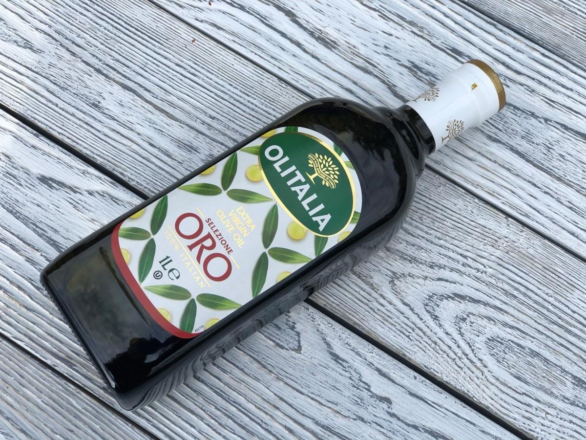 Оливковое масло, первого холодного отжима Extra Virgin Olitalia ORO Premium - 1 литр